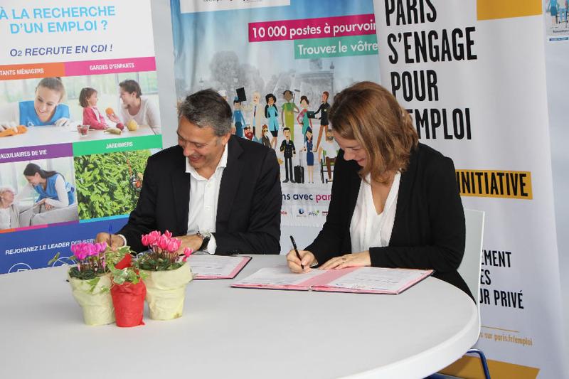 Une Charte de développement de l'emploi local signée avec O2 Care Service