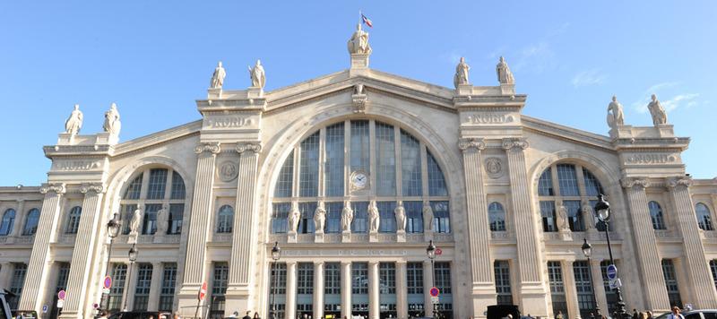 La gare du nord