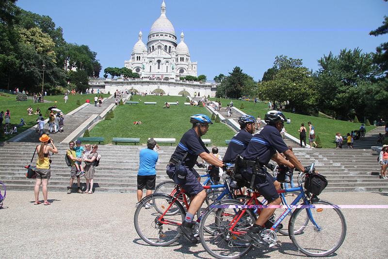Plan Touriste - patrouille d'ISVP