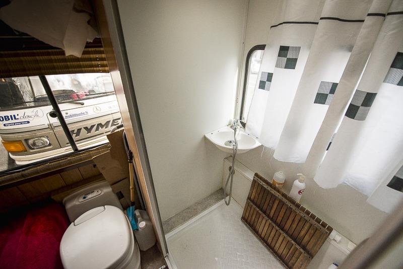 Mobil'douche au service des sans domicile fixe