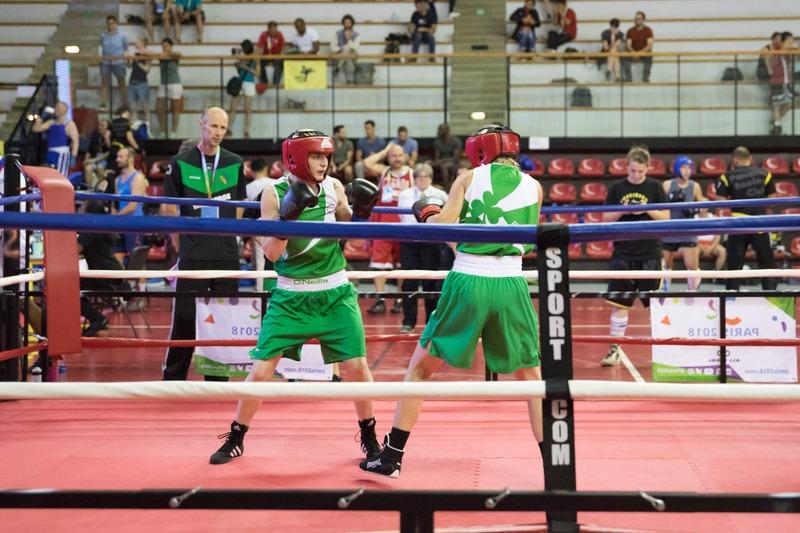 Boxeuses irlandaises aux Gay Games