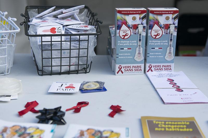 Paris mobilisé pour une ville sans sida