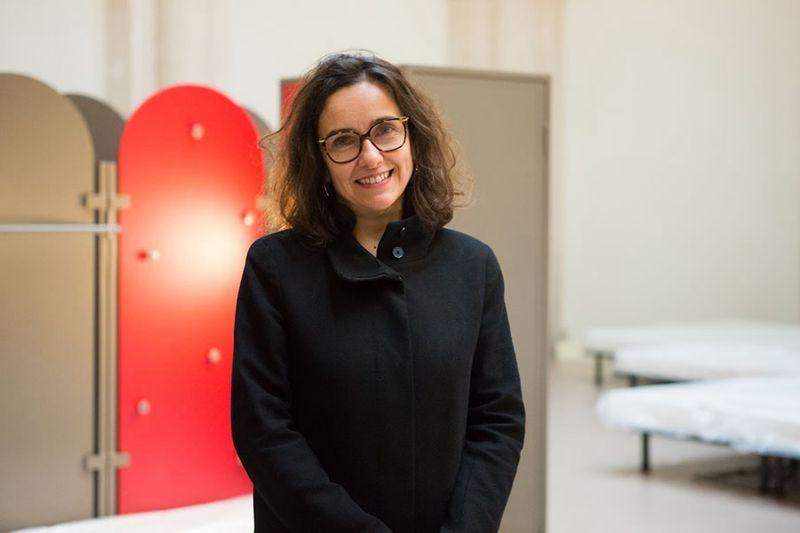 Christine Laconde, directrice générale du Samusocial de Paris