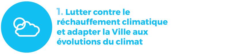 rapport développement durable 1 climat
