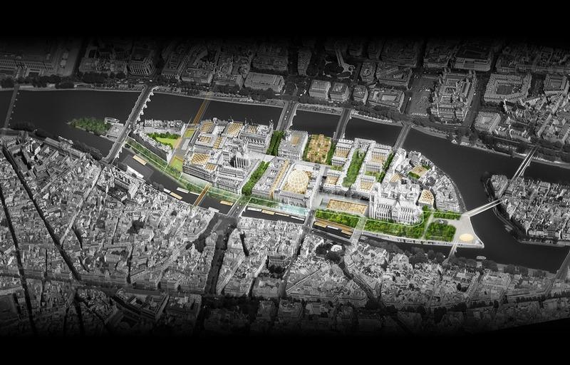 Plan de refonte de l'île de la Cité