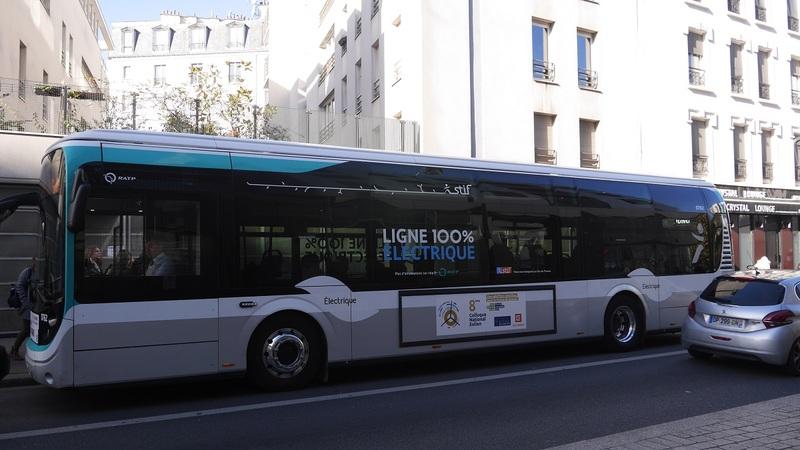 Bus 100% électrique parcours sommet innovation sociale Urbact