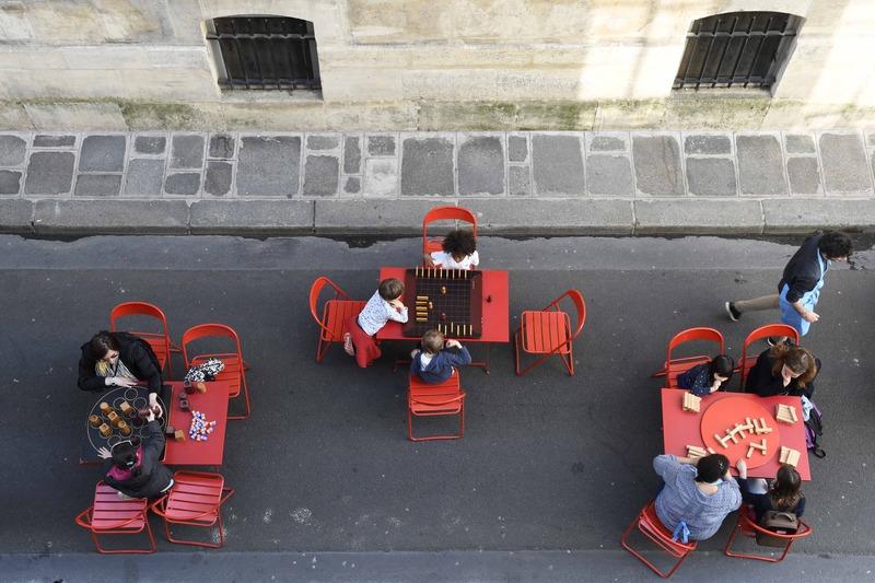 La rue des enfants dans le 3e arrondissement