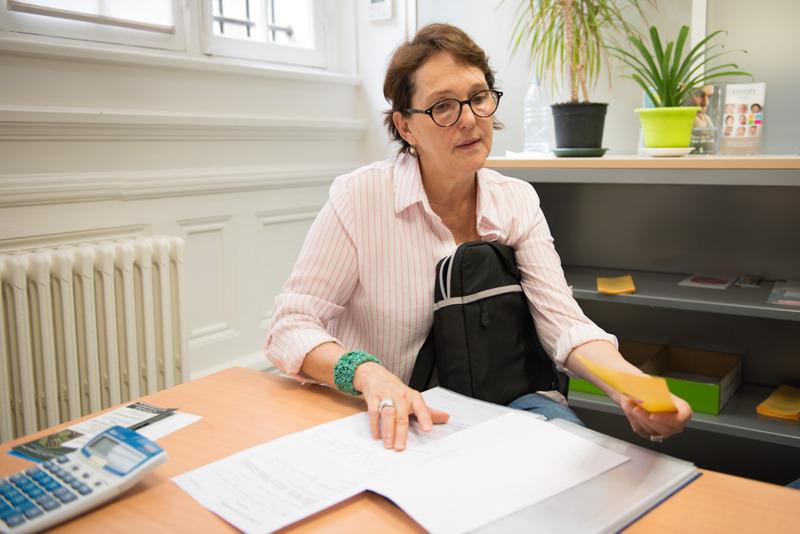 Claudine est aidée par le Crédit municipal