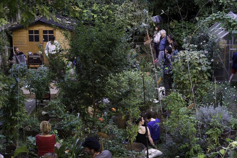 Fête des jardins 2014 au jardin partagé l'Univert (18e)