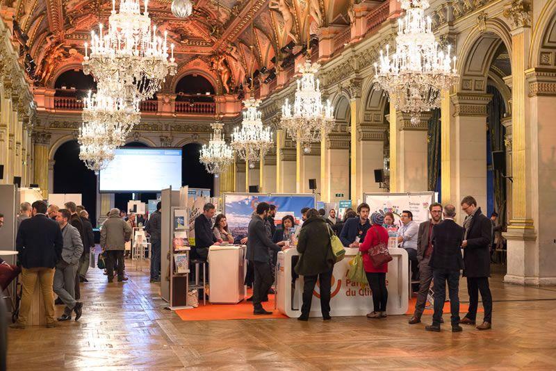 Forum de l'éco-rénovation 2018 à l'hôtel de Ville