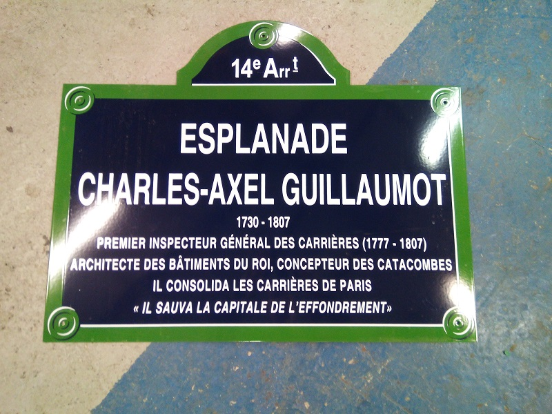 Inauguration Place Charles Axel Guillaumot