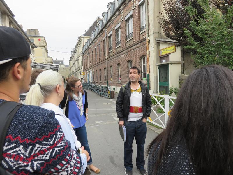 Norbert, éclaireur à l'Alternative urbaine