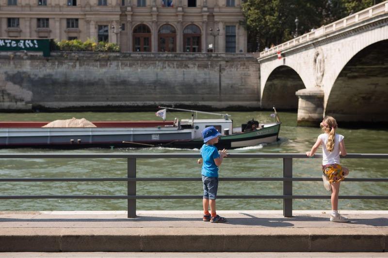 Paris Plages berges de Seine rive droite