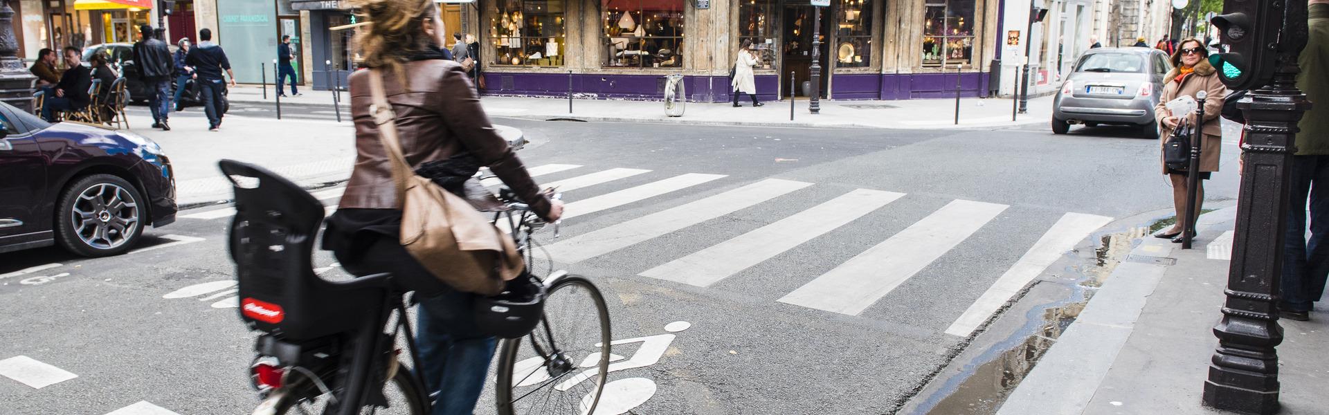 Sas vélo au feu rouge - vélo, Sas vélo - 2015/04/04 - 26500