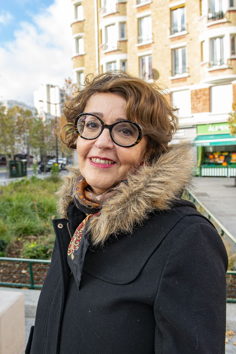 Tramway : Rofida, habitante du 18e arrondissement