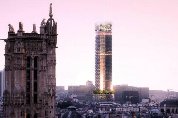 """Tour Montparnasse: future icône du Paris du XXIe siècle - crédit photo """"Nouvelle AOM-Luxigon 3"""""""