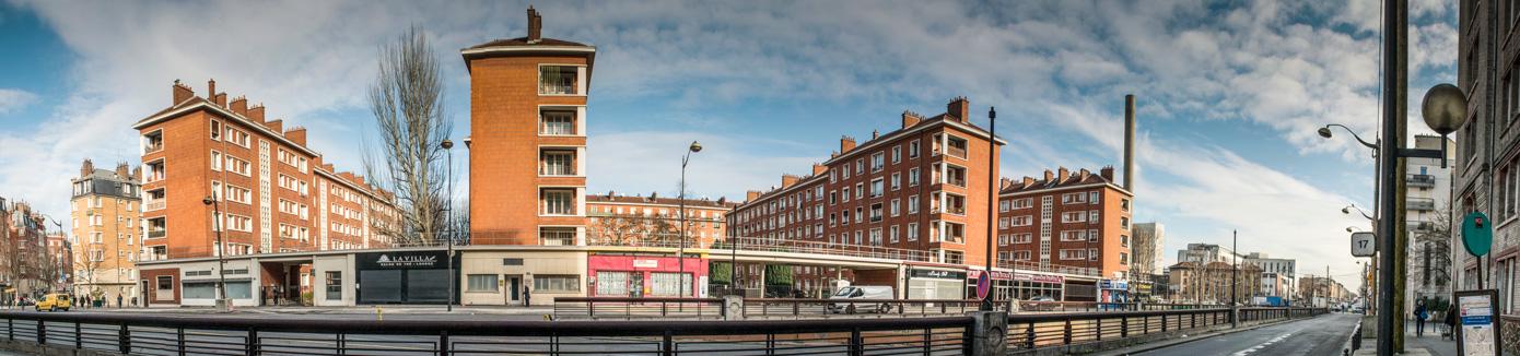 Vue du Boulevard Bessières