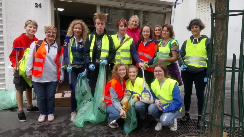 Stéphanie Evain Journée du grand nettoyage