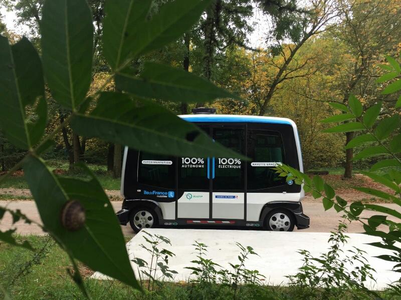 Navettes autonomes Bois de Vincennes