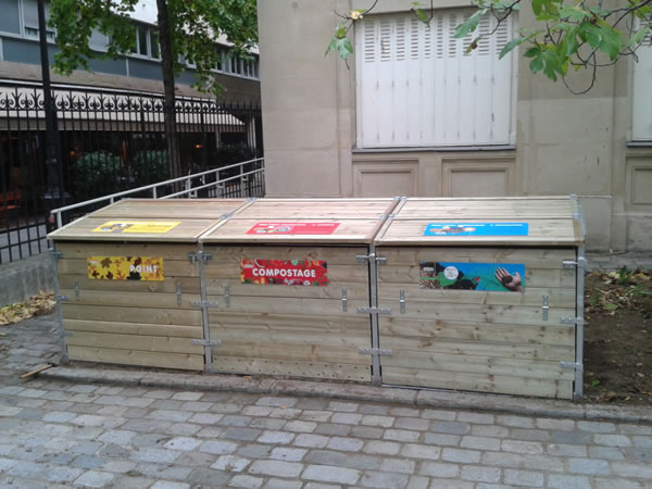 Composteur de quartier Paris 12e