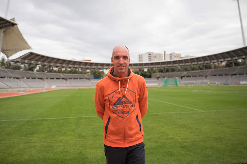 Uwe, participant allemand aux Gay Games