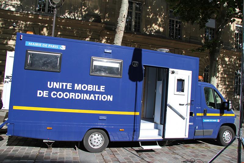 Unité mobile de coordination