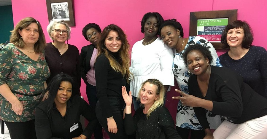 Journée Capital Confiance au salon de beauté solidaire Joséphine