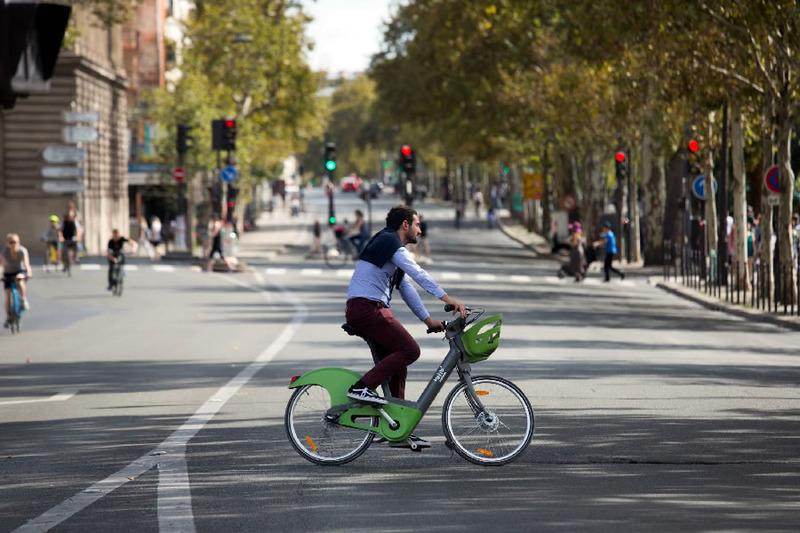 Centre de Paris sans voiture