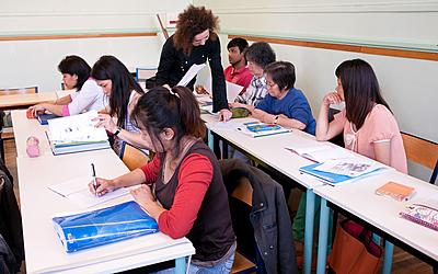 Cours municipaux d'adultes - cours de français