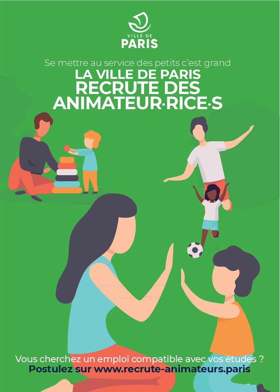 Devenez Animateur Rice à La Ville Ville De Paris