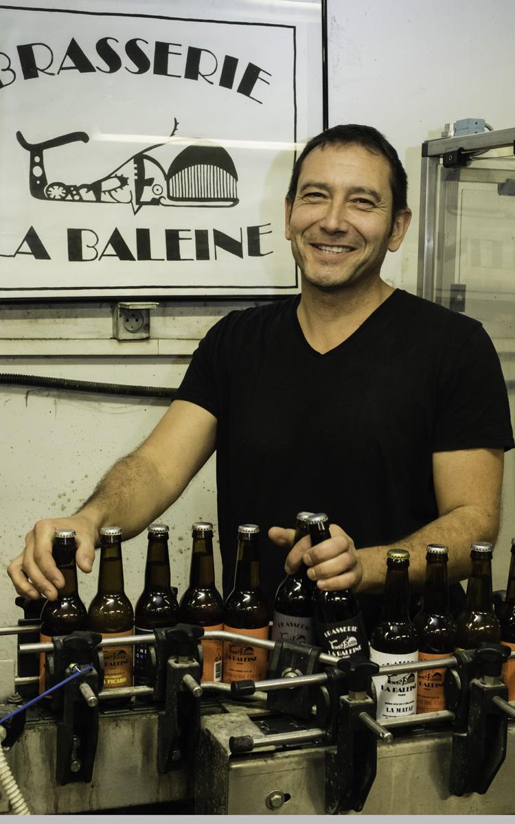Bruno Torres, brasseur