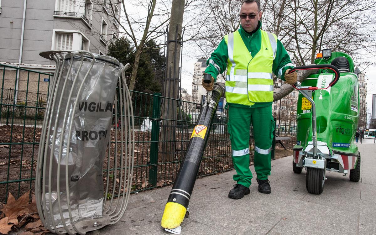 Les moyens mis en place pour la propreté parisienne