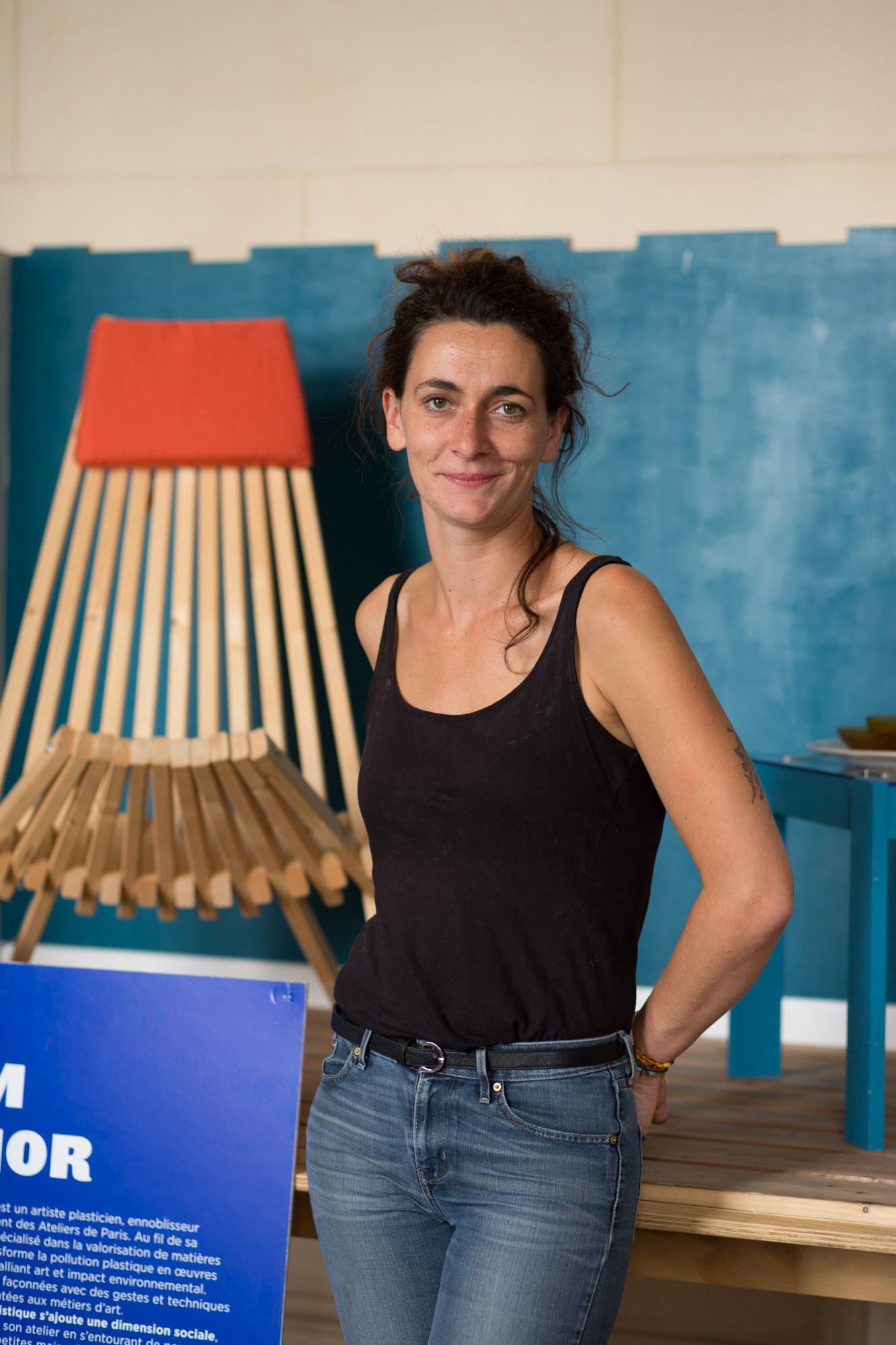 Noémie Staskiewisz - responsable de La Maison des canaux