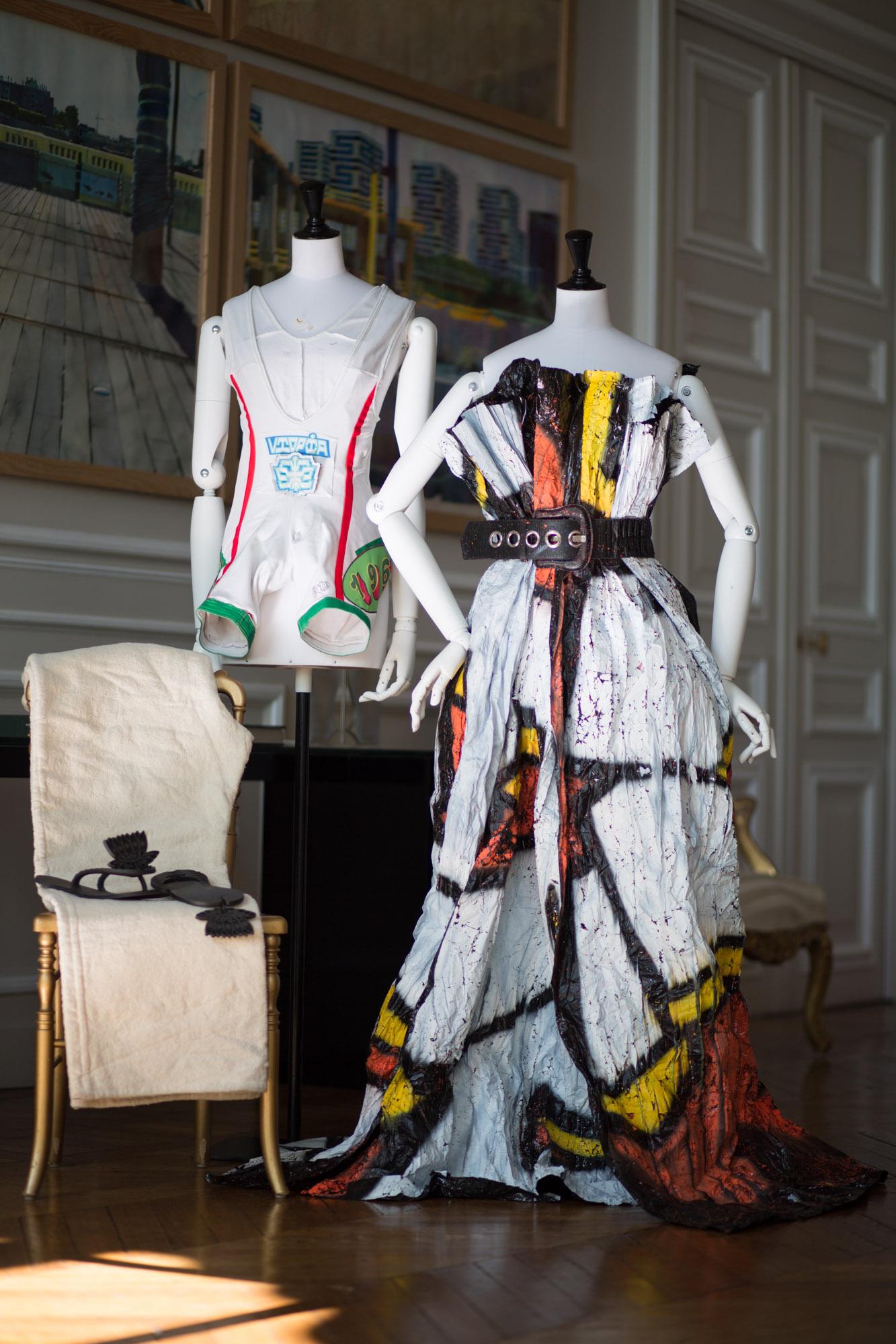 La robe Cellograph de Constance Tabourga