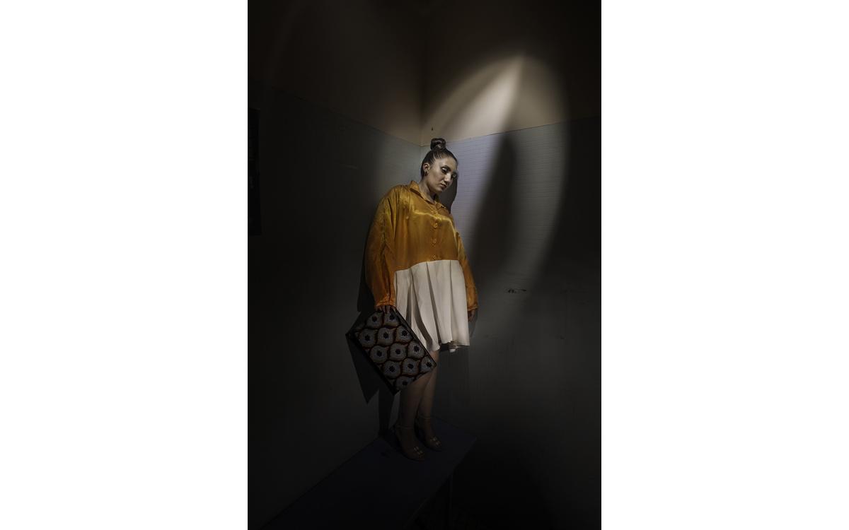 Photo d'une femme à la prison Fleury-Mérogis