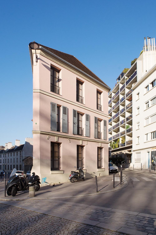 Rue de Croulebarbe / rue Berbier-du-Mets, 13e