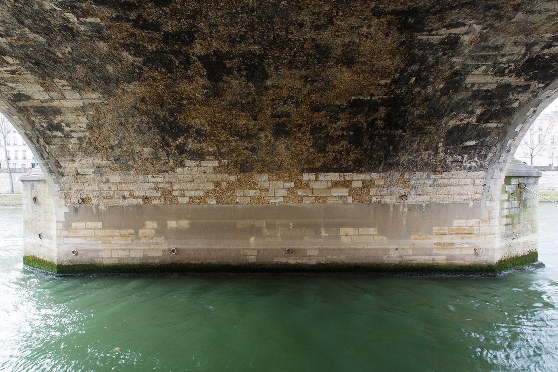 Pont Marie, construit de 1614 à 1635 par l'ingénieur Christophe Marie