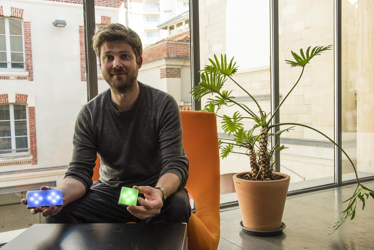 Arnaud Brachet, fondateur d'UWTI