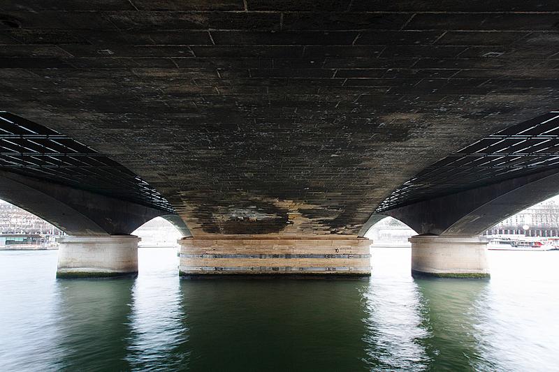 Pont d'Iéna, construit de 1808 à 1814 par l'ingénieur Lamandé