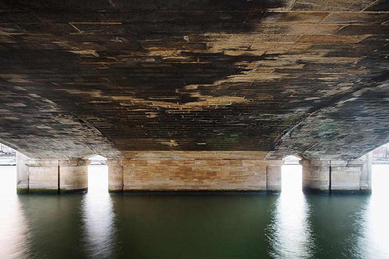 Pont de la Concorde, construit de 1787 à 1791 par l'architecte Jean-Rodolphe Perronet