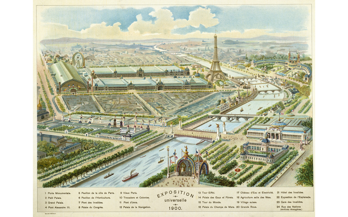 """""""Exposition Universelle de 1900""""."""
