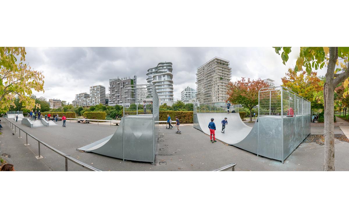 Skate parc des Batignolles