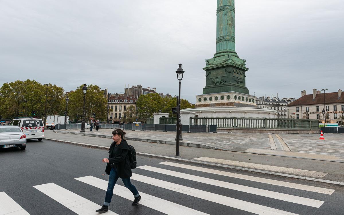 Place de la Bastille le 29 Octobre 2019