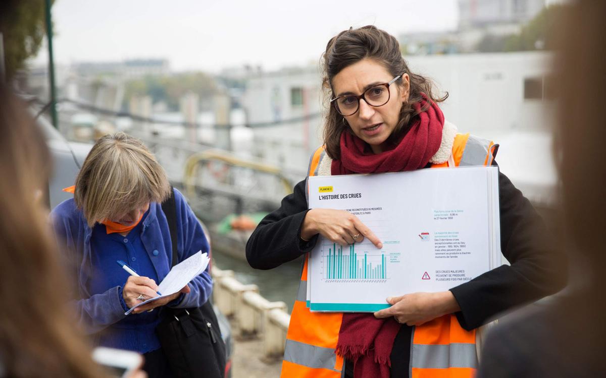 Balade Episeine sur la crue de la Seine