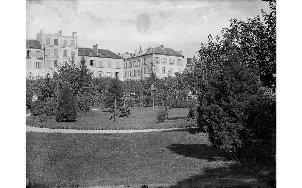 Place des Fêtes. Paris (XIXème arr.) vers 1850