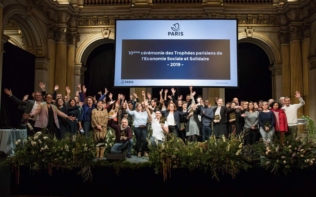 10e cérémonie des Trophées parisiens de l'Économie Sociale et Solidaire