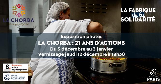 "Exposition photos ""La Chorba : 21 ans d'actions"""