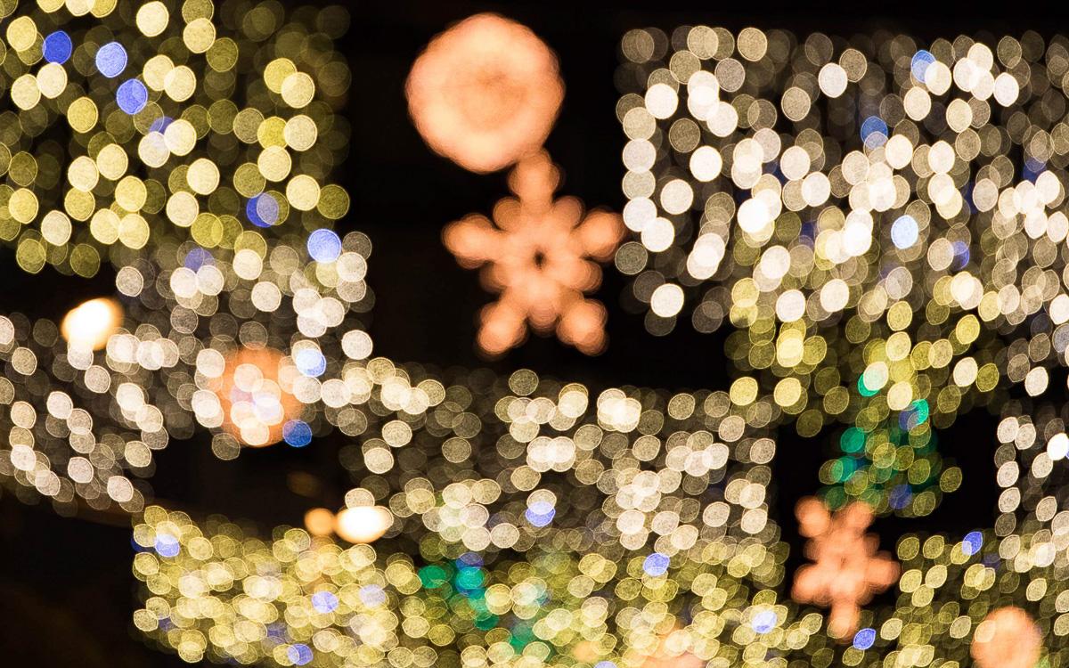 Illuminations des rues Lecourbe et Cambronne
