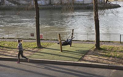 Sur les bords de Seine
