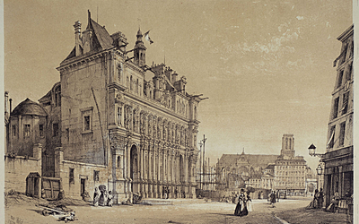 Hôtel de Ville.  Wyld, William
